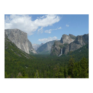 Inspiration Point in Yosemite National Park Postcard