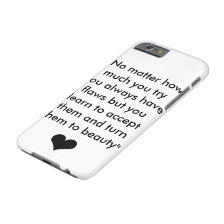 Inspiration Quote 1 Barely There iPhone 6 Case