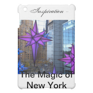 Inspiration - The Magic of New York - cricketdiane iPad Mini Cover