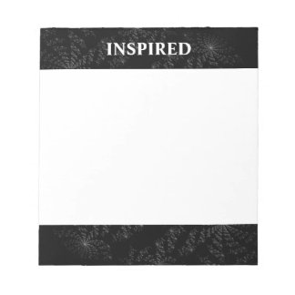 Inspirational Abstract Business Notepad