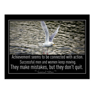 Inspirational Achievement collection Postcard