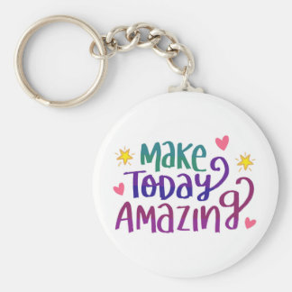 Inspirational and Motivational Quote Key Ring