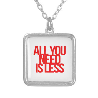 Inspirational and motivational quotes necklace