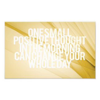 Inspirational and motivational quotes photographic print