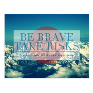 Inspirational and motivational quotes post cards