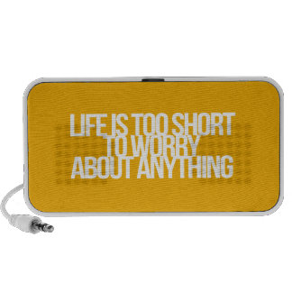 Inspirational and motivational quotes laptop speakers
