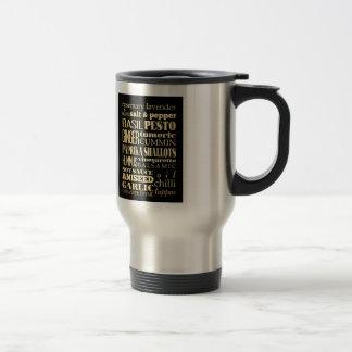 Inspirational Art - Condiments Stainless Steel Travel Mug