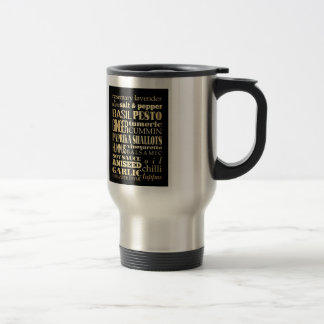 Inspirational Art - Condiments Stainless Steel Travel Mug