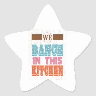 Inspirational Art - Dance In The Kitchen. Stickers