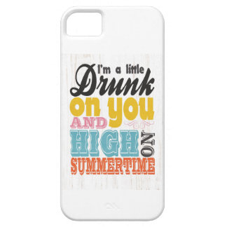 Inspirational Art - I'm a Little Drunk on You. iPhone 5 Cover
