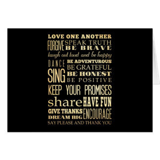 Inspirational Art - Love One Another. Card