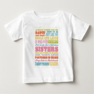 Inspirational Art - My Sister, My Best Friend. Baby T-Shirt