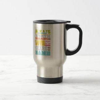 Inspirational Art - Sharing Love. Coffee Mugs