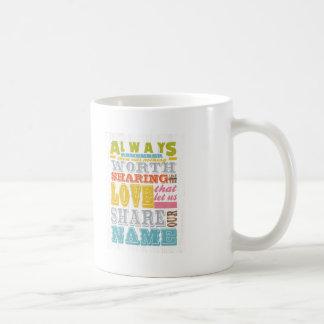 Inspirational Art - Sharing Love. Mugs