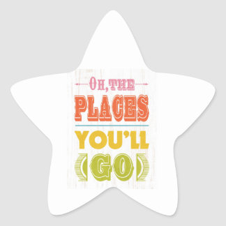Inspirational Art - The Places Stickers