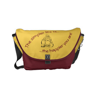 Inspirational Bag Small Courier Bag