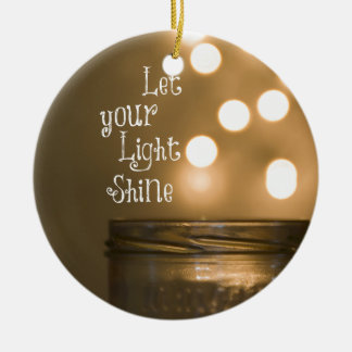Inspirational Bible Verse Christian Quote Ornament