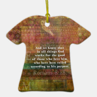 Inspirational Bible Verse Ornaments