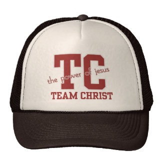 "Inspirational Blessings ""Team CHRIST"" Caps Cap"
