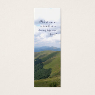 Inspirational  - Bookmark Mini Business Card