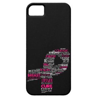 Inspirational Breast Cancer Awareness Ribbon Case For The iPhone 5