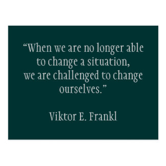 Inspirational card Change 2 -