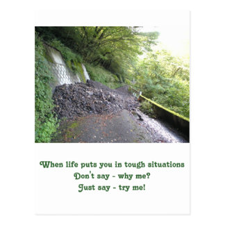 Inspirational card : tough situations