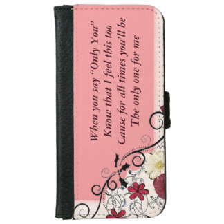 Inspirational Case - Love iPhone 6 Wallet Case