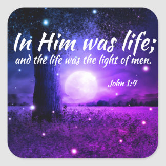 Inspirational Christian Faith Scripture Stickers