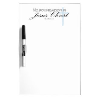 Inspirational Christian Quote Jesus Dry Erase Dry Erase Board