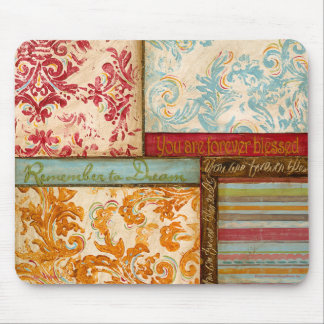 Inspirational Collage 2 by Kate McRostie Mouse Pad
