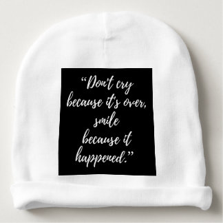 Inspirational Day Quote Magnet Baby Cotton Beanie Baby Beanie