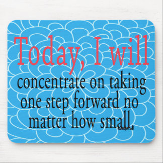 Inspirational Encouragement Mouse Pad