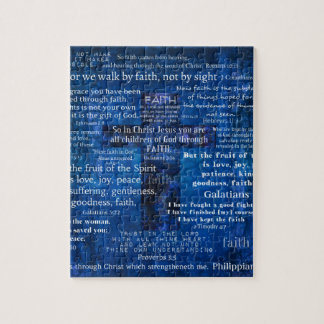 Inspirational Faith Bible Verses Jigsaw Puzzle