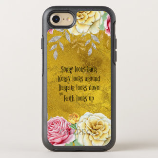 Inspirational Faith Looks Up Quote OtterBox Symmetry iPhone 8/7 Case