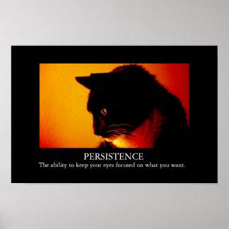 Inspirational Feline Poster