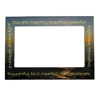 Inspirational Frame - Appreciation Frame Magnet