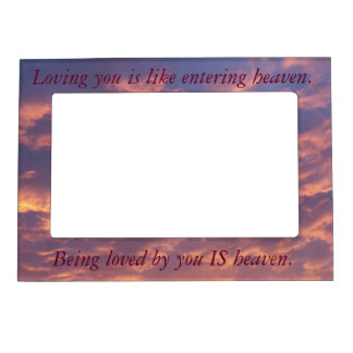 Inspirational Frame - Love Magnetic Photo Frames