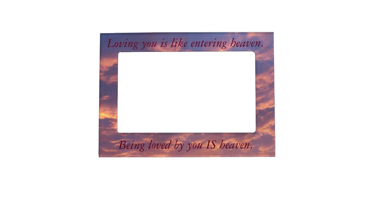 Inspirational Frame Love Magnetic Photo Frames