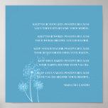 Inspirational Gandhi Quote Positive Thinking Habit Poster