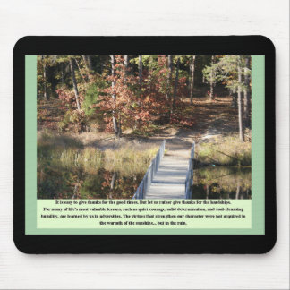 Inspirational Gifts Quiet Courage Mouse Pad