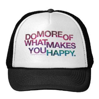 Inspirational Glitter Hat