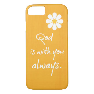 Inspirational God Quote iPhone 8/7 Case