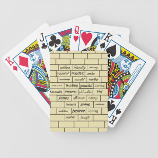 Inspirational Graffiti Playing Cards