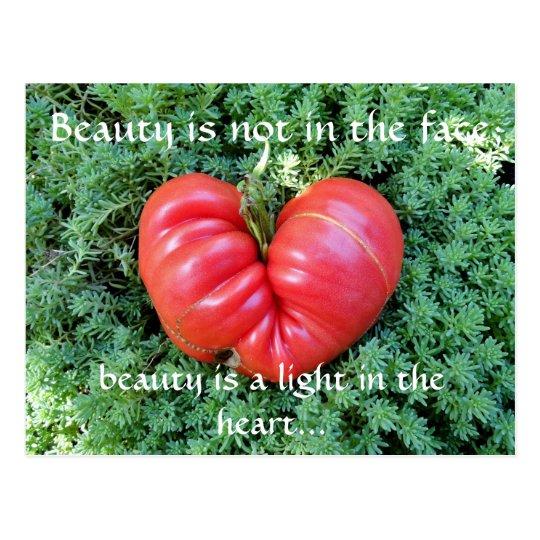 Inspirational Heart Postcard
