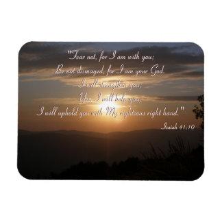 Inspirational  | Isaiah 41;10 Magnet