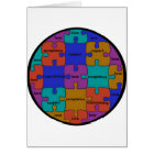 INSPIRATIONAL JIGSAW PUZZLE QUOTE CARD