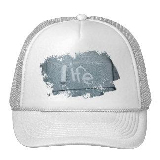 Inspirational life boho rustic blue cap
