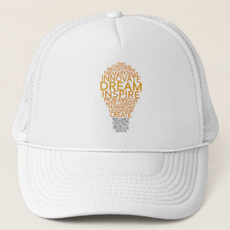 Inspirational Light Bulb hat - choose color