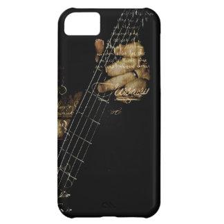 Inspirational Lyric Guitar iPhone 5C Cases